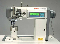 L Gent - Industrial sewing machines - Pfaff post bed manual